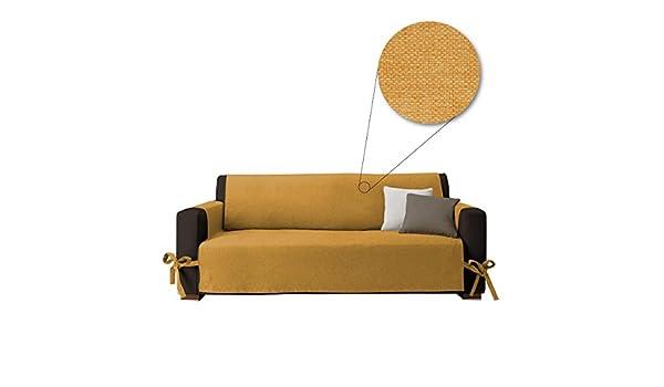 Salva sofá Easy, cubre sofá de 3 plazas, muy suave, con ...