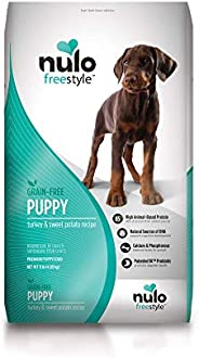 Nulo Freestyle Dry Puppy Food - Grain Free Kibble Recipe with DHA for Brain Development, Available for Large B