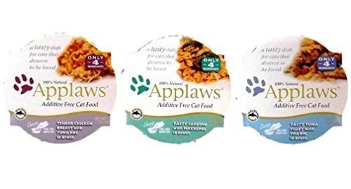 Applaws Additive Free 100% Natural Food For Cats 3 Flavor Va