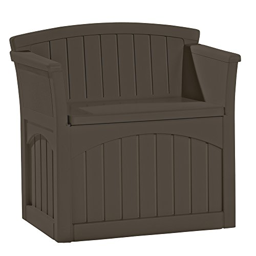 Suncast Outdoor Storage Seat (Suncast PB2600J Java Patio Seat)