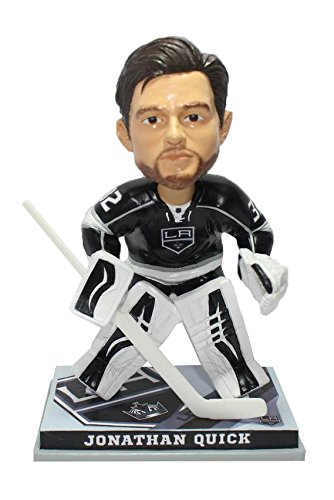(Forever Collectibles Jonathan Quick Los Angeles Kings Goalie Bobblehead )