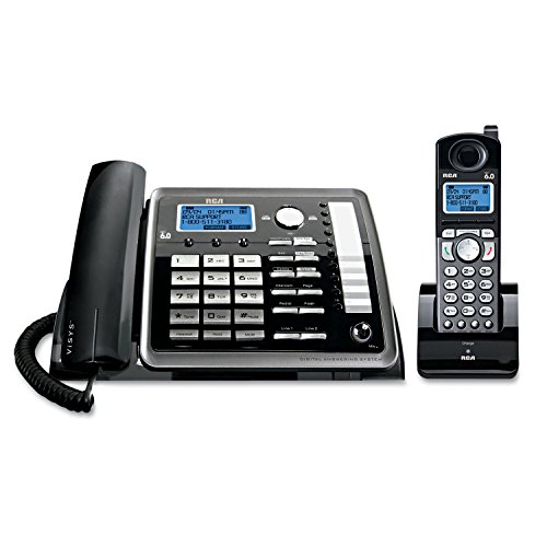 RCA 25255RE2 Dect_6.0 2-Handset 2-Line Landline Telephone from RCA