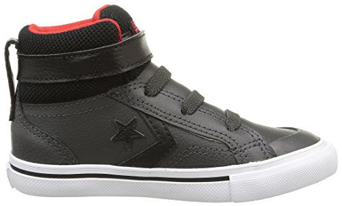 Converse Pro Blaze Hi Strap Leather - Zapatillas De Deporte  para hombre Negro (Noir/Rouge)