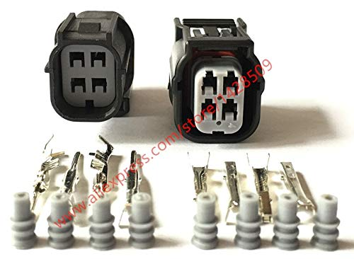 Hvg Series - Davitu 20 Sets Sumitomo HV/HVG Series 040 O2 Sensor Automotive Connector 4 Pin Female Male Waterproof Socket Plug 6189-7039 6188-4776 - (Color: 20 Sets Male)