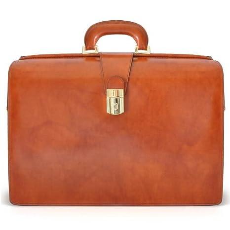 Pratesi para ordenador portátil de piel italiana Abogados Leonardo Compatible de maleta: Amazon.es: Equipaje