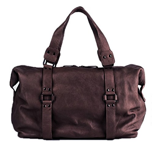 BACCINI travel bag GRETA - weekender leather brown - sports bag