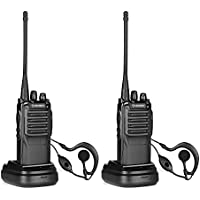 Amcrest Baofeng ATR-22 Two-Way Radios (Pack of 2) Walkie Talkies (Newer Version BF-888S) Upgraded 1800mah Battery, 400-470 MHz FM, 16 Channels, Flashlight, FCC Cert