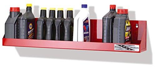 Go Rhino 2014R Garage/Shop Organizer Oil Bottle Holder Red Large Capacity 12 - 1 Quart Bottles [Available Whiles Supplies Last] Garage/Shop Organizer Oil Bottle - Go Shop Red