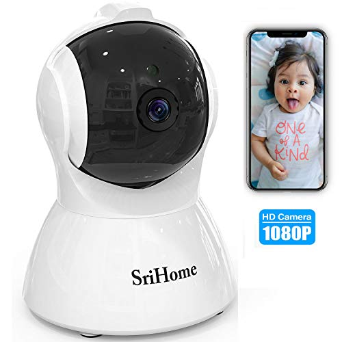 Learn More About GORRON Wireless Security Camera, 1080P HD Video IP WiFi Pet Camera Baby Monitor Sou...