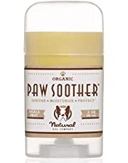 Natural Dog Company Paw Soother (Tin/Stick) | Organic Healing Balm | Natural Pet Grooming Essentials | soothe, treat, heal, moisturizes, nourishes, protect, smooth healthy paws (0.15oz Travel Stick)