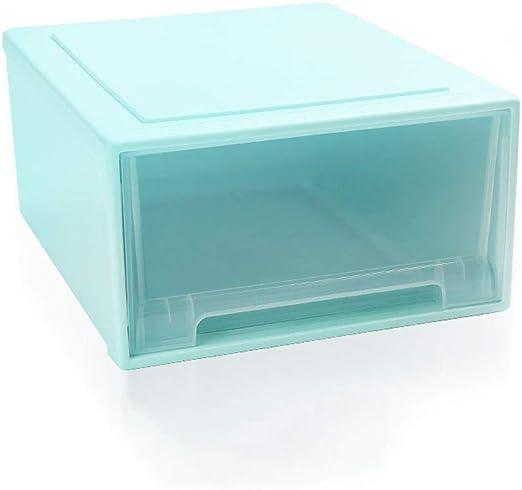 LDG Cajón Grande Plastico Caja Almacenamiento- 32L Organizador Y ...