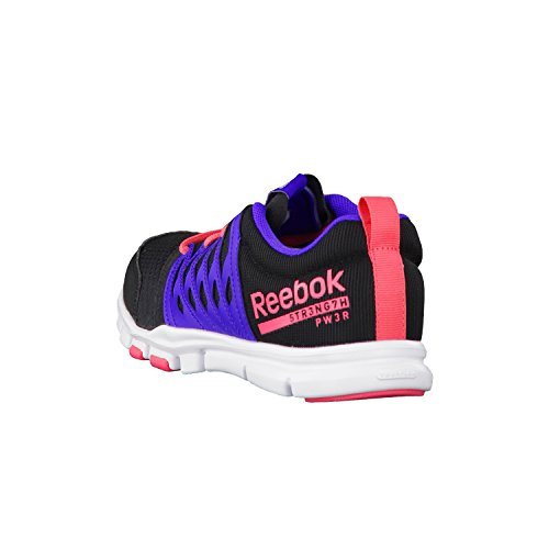 Reebok Your Flex Trainette Rs 5.0Ladies Fitness Trainers Black - Black/Purple/Sorbet/W zXltdnZ
