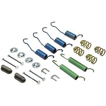 Drum Brake Hardware Kit Rear,Front Centric 118.61002