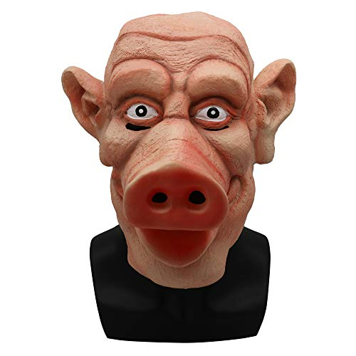 LBAFS Halloween Horror Pig Head Mask Rotten Zombie