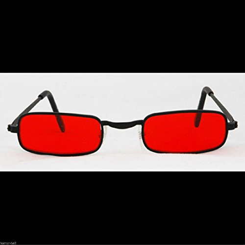 True Blood Costume Ideas (Steampunk Cosplay GOTHIC VAMPIRE SUN GLASSES Rocker Halloween costume-BLOOD RED)