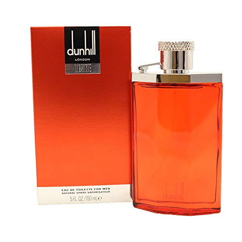 - Alfred Dunhill Desire Red for Men Eau de Toilette Spray, 5 Ounces