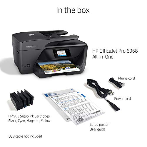 HP 6968 All-in-One Printer with Mobile Printing, Instant Ink