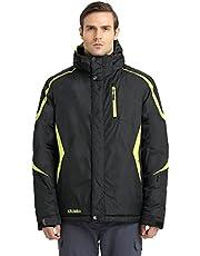 Krumba Herren Sportswear Outdoor Wasserdichte Winddichte Kapuzen Ski Jacke