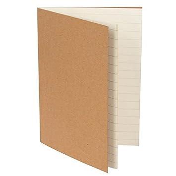 Viajeros Cuaderno Recambios Forrado Papel Juego De 2 Para 13 5