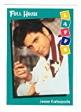 Full House trading card 1991 Impel Laffs #4 Jesse Katsopolis John Stamos