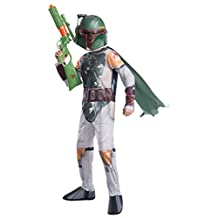 Rubies Costume Star Wars Classic Boba Fett Child Costume, Small