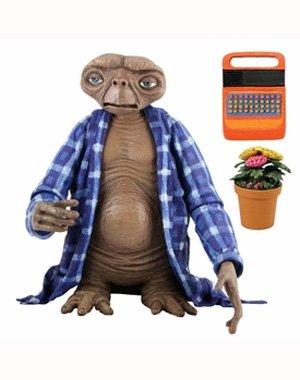 "NECA - E.T. the Extra-Terrestrial - 7"" scale action figure series 2 - Telepathic E.T."