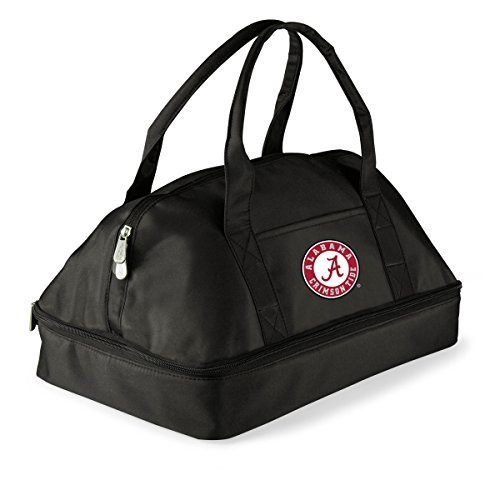 NCAA Alabama Crimson Tide Potluck Casserole Tote by Picnic Time (Sports) by