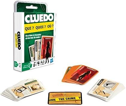 Hasbro Juego de Cartas Cluedo: Amazon.es: Juguetes y juegos