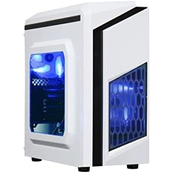 Centaurus Paladin Gaming Computer - AMD Ryzen 3 2200G Quad Core 3.7GHz TB, 8GB DDR4 RAM, Nvidia GTX 1060 3GB, 1TB HDD, Windows 10 PRO, WiFi.