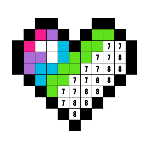 Color by Numbers: Free Coloring Apps - Pixel ArtBook by Fun Games For Free]()