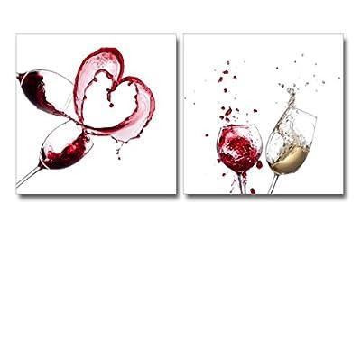 Artistic Wine Splash Closeup Home Deoration Wall Decor...