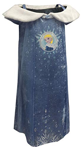 Disney Girls' Little Frozen Elsa Fantasy Nightgown, Winter Royalty, 6