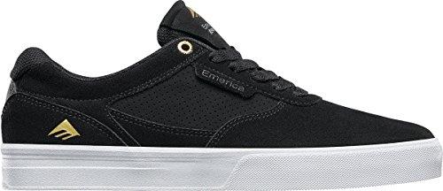 Emerica Empire G6, Color: Black/White, Size: 38.5 Eu / 6.5 Us / 5.5 Uk