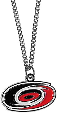 Siskiyou Sports HN135SC Carolina Hurricanes Chain Necklace with Small Charm