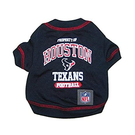 Image Unavailable. Image not available for. Color  Houston Texans Pet T- Shirt - Large 497294cf5