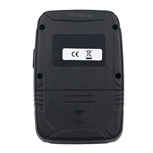 HERCHR Automotive Infrared Frequency Tester, WOYO Portable Remote Control Test Tool, Black by HERCHR (Image #2)