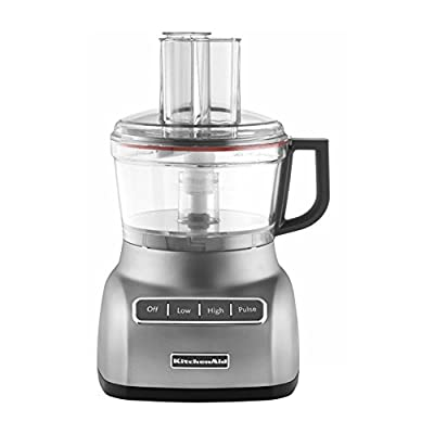 KitchenAid KFP0711 7 Cup Food Processor - Contour Silver
