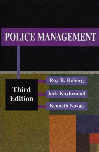 Police Management (Cloth)