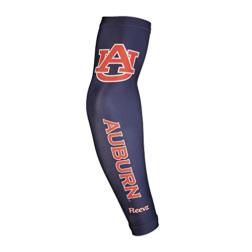 Burnt Tiger (NCAA Auburn Tigers Arm Long Sleeve, Burnt Orange/Navy Blue)