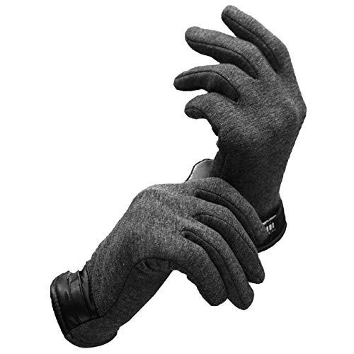 間違いアレイ複雑でない(アクアランド) AQUALAND メンズ 手袋 グローブ フリース 裏起毛 ボア 秋冬 防寒 【タッチパネル対応 スマホ対応】