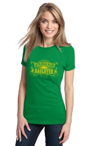 FARMER'S DAUGHTER Ladies' T-shirt / Funny 4H Farming Humor Farm Tee