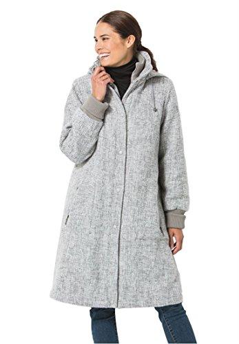 Wool Tweed Coat - 5