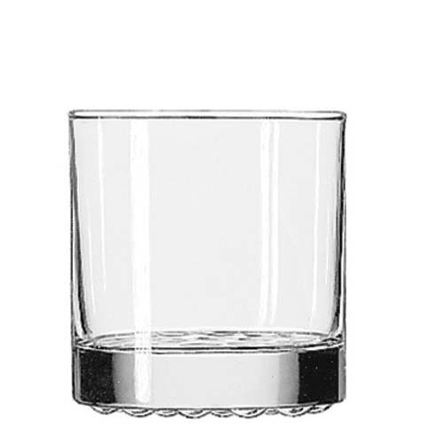 Bumpy Glass (Libbey 23386 Nob Hill 10.25 Ounce Old Fashioned Glass - 24 / CS)