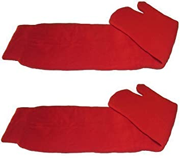Calcetines Tabi Ninja Japoneses Rojos - 1 Par Tamaño Adulto (EU 40-44): Amazon.es: Deportes y aire libre