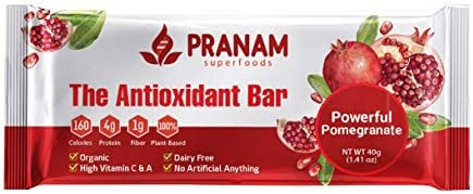 Powerful Pomegranate Antioxidant Bar 8 Count