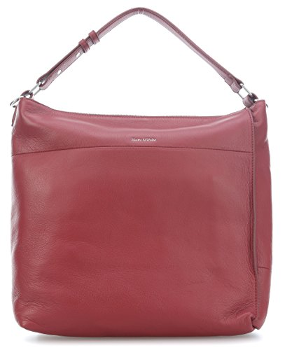 Donna red Hobo Borse rot wine a O'Polo Marc spalla XxHPwqfRR