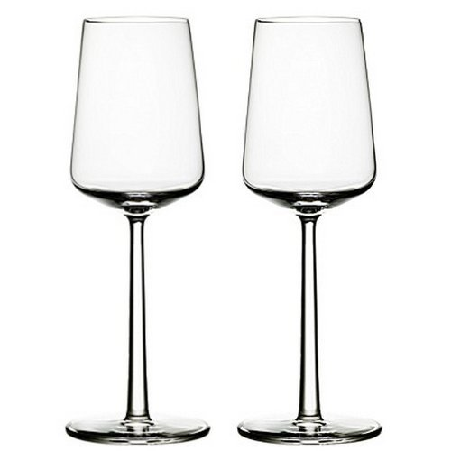 Iittala Essence 11-Ounce White Wine Glass, Set of 2