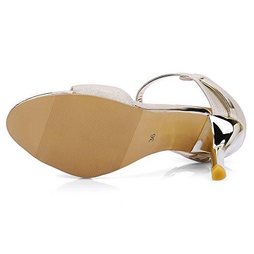 Talons Beige Mules Femme 1 Sandales Mode RAZAMAZA qRPExg4P
