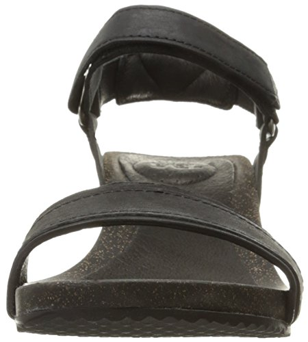 Sandal Wedge Teva Women's Ysidro Black Stitch W wqUwXIxOR