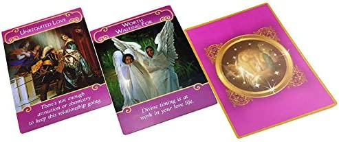 Envisionen 44 Karten, romantische Engel, Papier, Engel Oracle